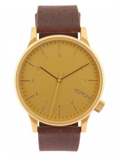 9489ae7cd Komono WINSTON GOLD pánské analogové hodinky / Swis-Shop.cz