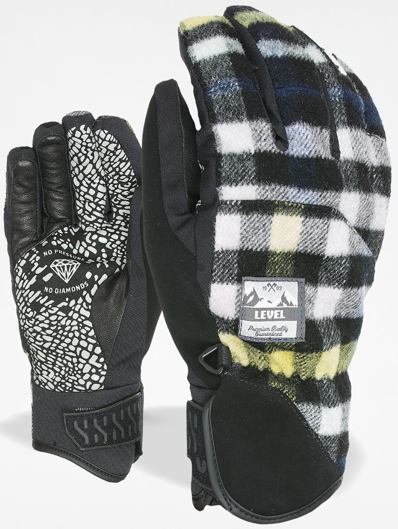 Level SUBURBAN BLACK GREY pánské snowboardové rukavice   Swis-Shop.cz 15f79ee5a7