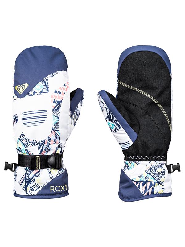 Roxy JETTY MITT BRIGHT WHITE FREESPACE GIRL dámské palcové lyžařské rukavice    Swis-Shop.cz e1e34da333