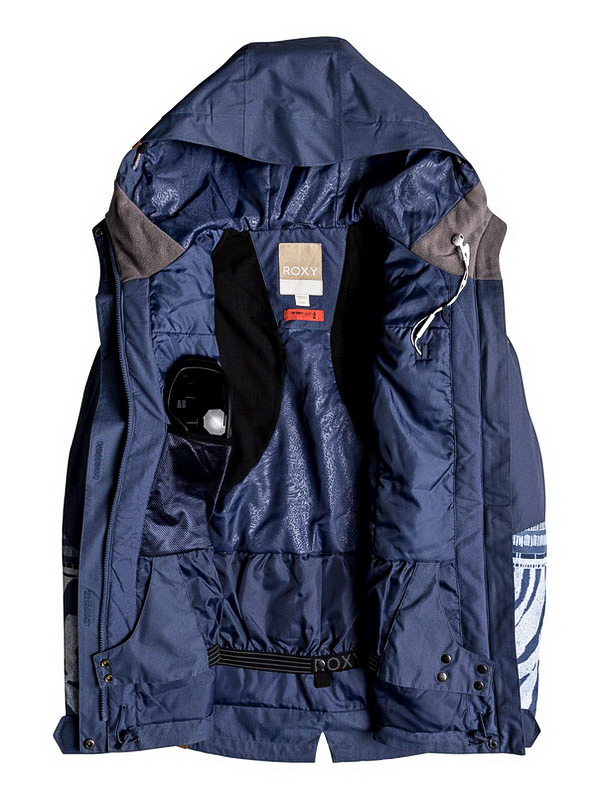 3cf7748a7 Roxy ANDIE CROWN BLUE WILD ETHNIC zimní dámská bunda / Swis-Shop.cz