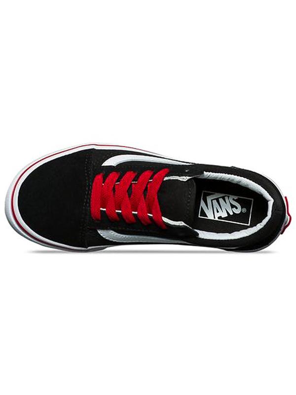 Vans OLD SKOOL (POP) (Pop) black racing red dětské boty   Swis-Shop.cz f0b70c5e33