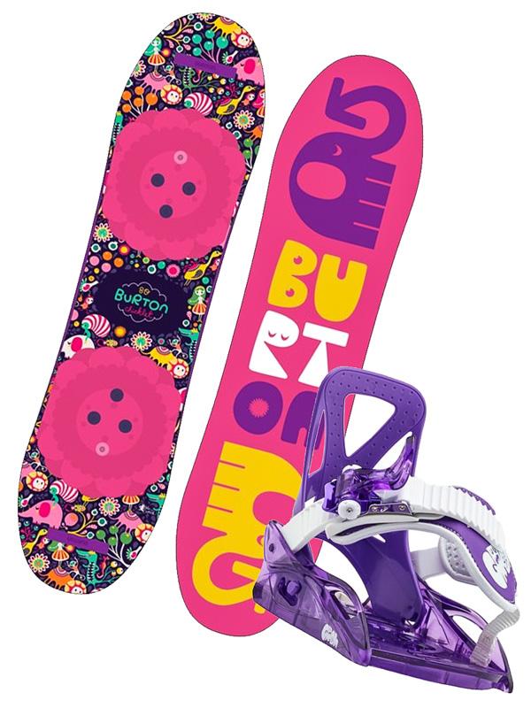 5809933ba2 Burton CHICKLET dětský snowboard set   Swis-Shop.cz